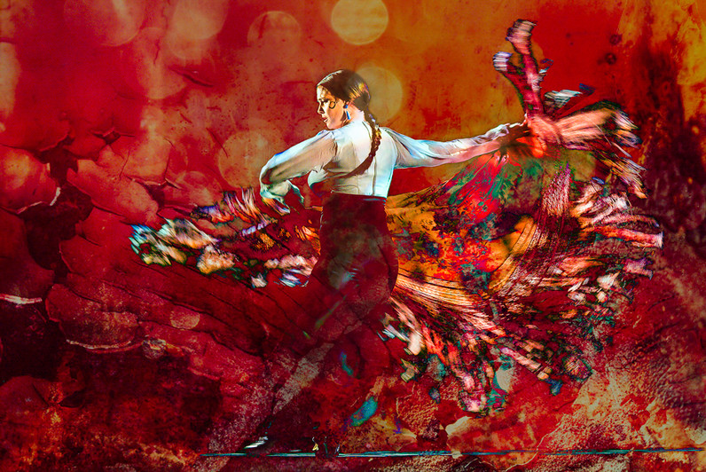 Flamenco l'envolée
