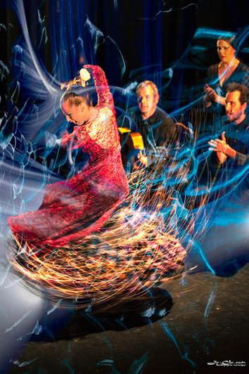 Flamenco espiral