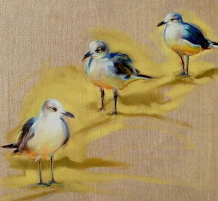 So Three Gulls Walk Into A Bar