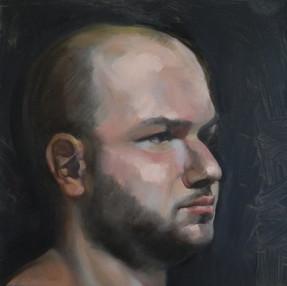 Mickey Boisvert Paints Commissioned Portraits!