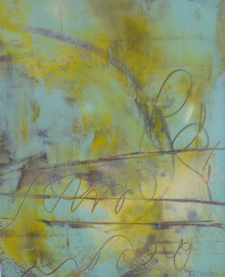 Matted Painting 8/10-06