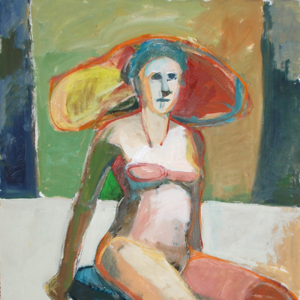 Girl with Green Arm
