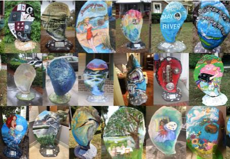 """Shell-ebrate"" Bluffton's Public Art"