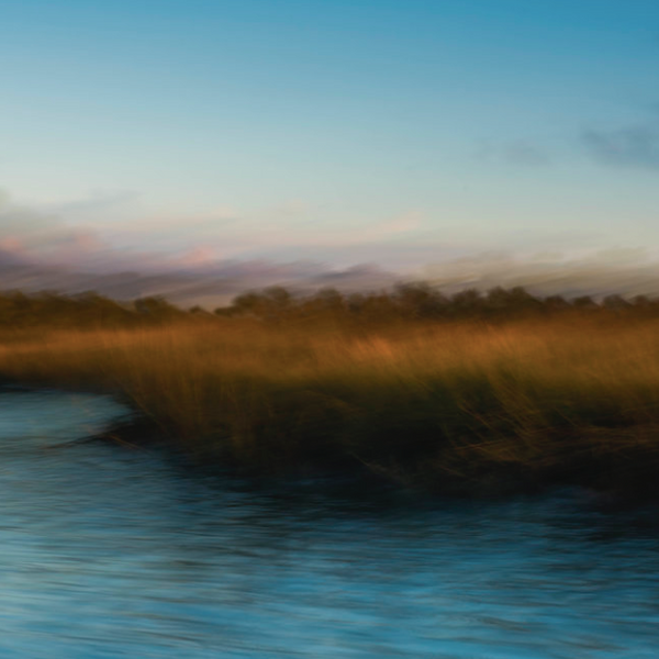 Early Morning Light In The Salt Marsh