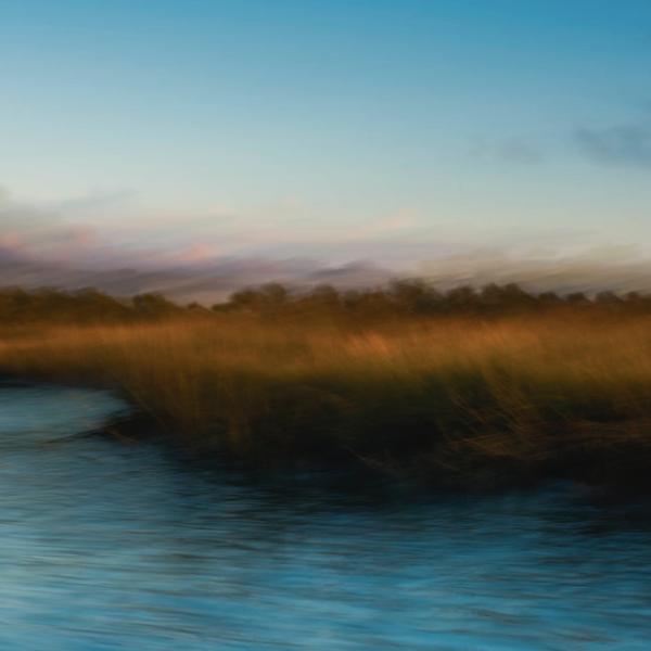 Early Morning Light In The Salt Marsh