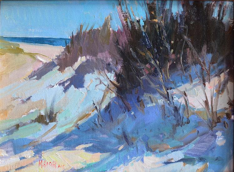 Sea Oats and Dunes I