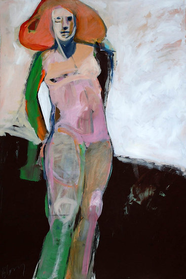 Woman With Green Arm
