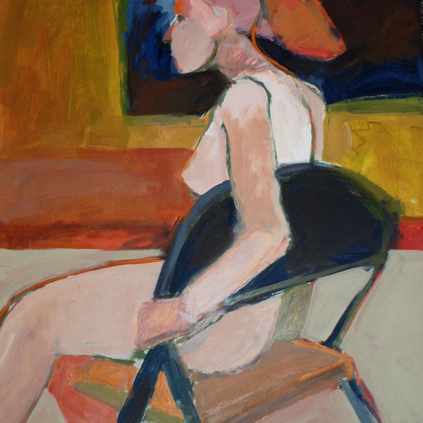Female in Chair