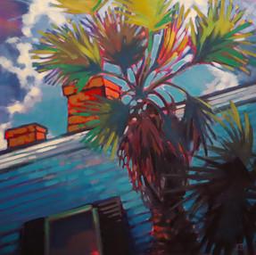 Blue House Blue Sky Phenomena