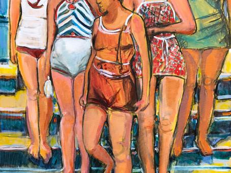 How Does Louanne LaRoche Paint?