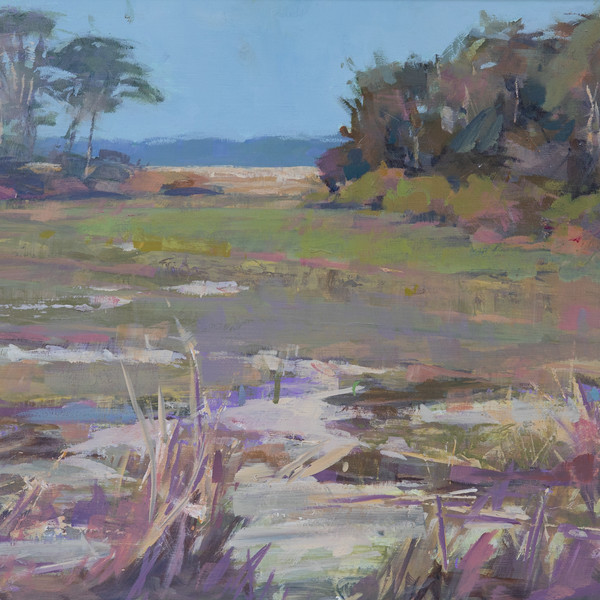 Study For Muted Marsh