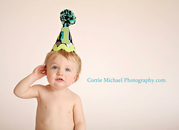 Cake Smash Party Hat
