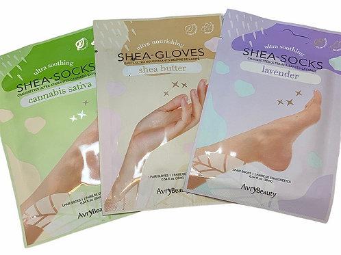 Shea Gloves and Socks