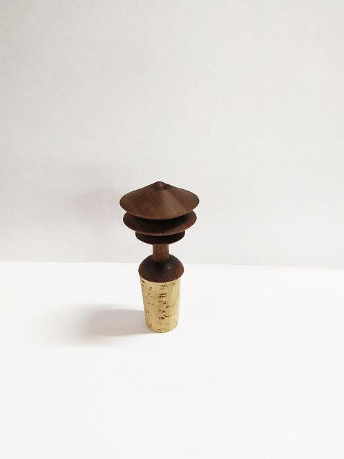 Bouchon bouteille hêtre chêne noyer (pièce réservée)