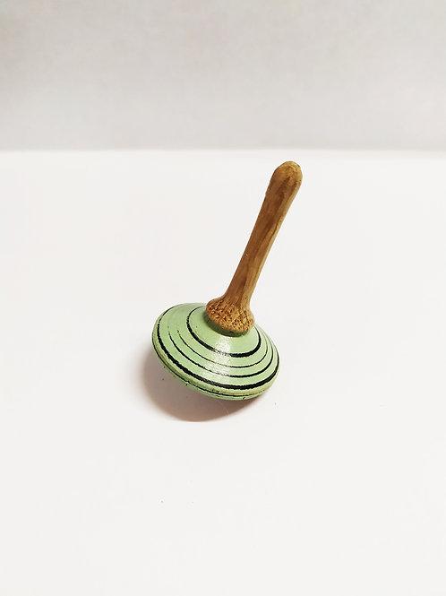 Toupie couleur en chêne