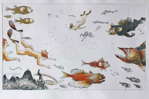 Deep Waters 1/10 Tous nus dans l'océan