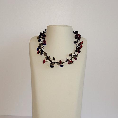 Collier « Cerisier » multi couleur