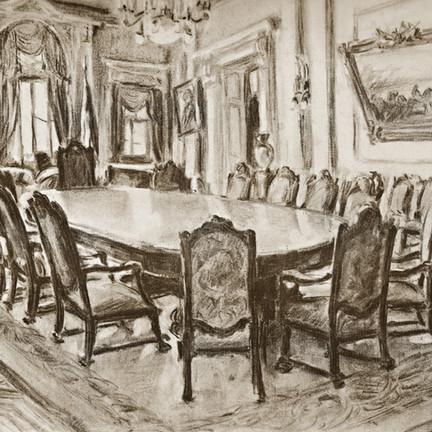 Salão Nobre.  Martha de Wagner-Schdrowitz, 1940.