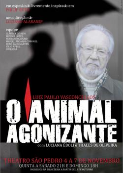 O animal agonizante