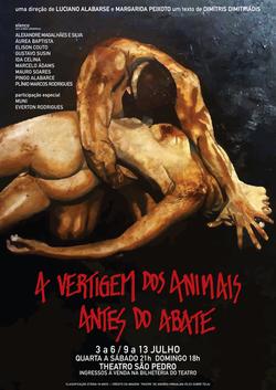 A vertigem dos animais antes do abat