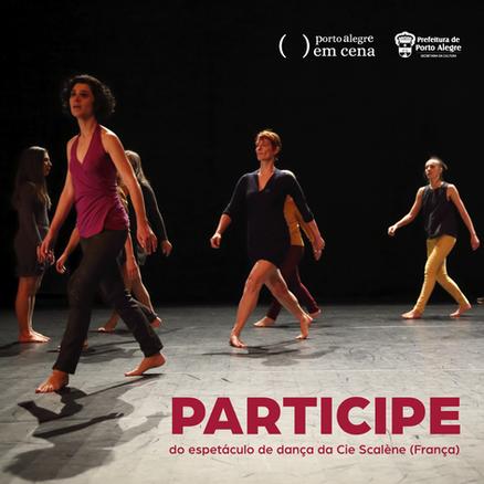 Participe de espetáculo da companhia francesa de dança Scalène