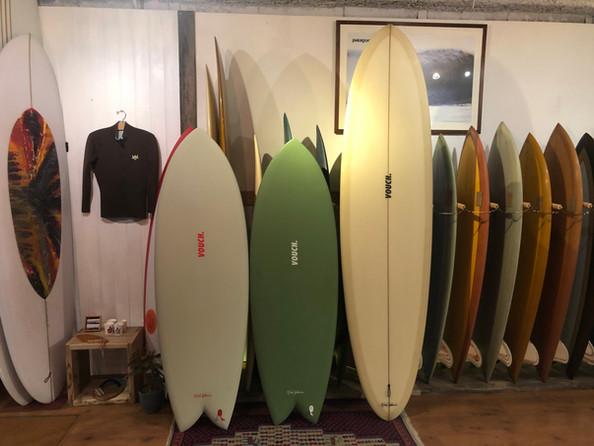 VOUCH SURFBORED...
