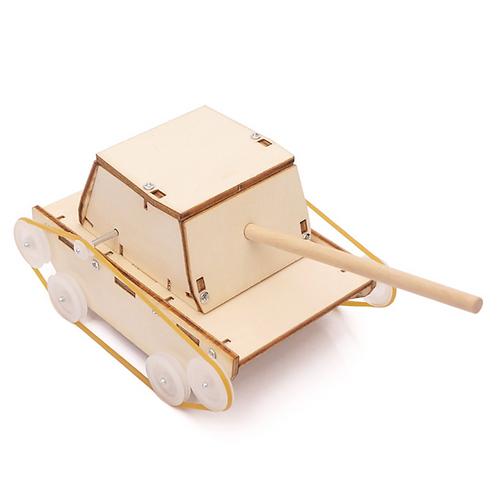 【DIY親子共創STEM科普玩具】搶救大兵小坦克 - 6歲以上適用科學教具,親子同樂共創成果