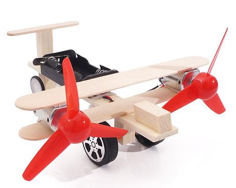 【DIY親子共創STEM科普玩具】獵豹飆風滑翔翼- 6歲以上適用科學教具,親子同樂共創成果