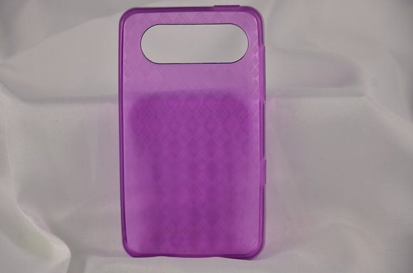 Purple Flexi Case for HTC HD7-750