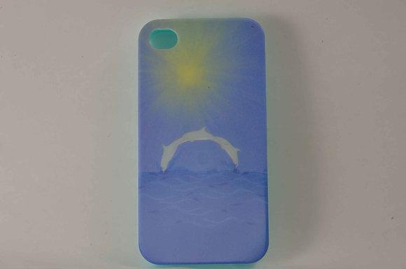 Blue iPhone 4/4S 3D Case- 1251