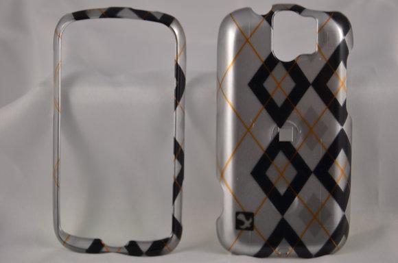 Black/Silver MyTouch Slide Case-756