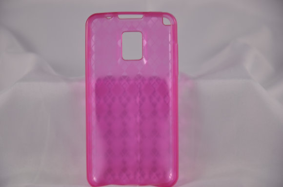 Pink LG Optimus S Jelly Case-973