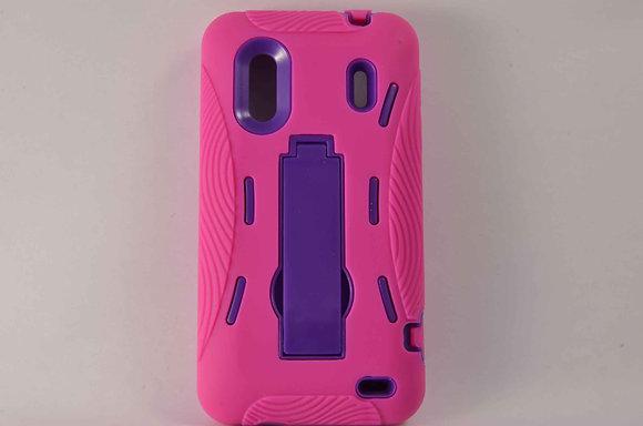 Hybrid Case w/ kickstand for HTC Evo Design