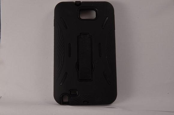 Black Hybrid Case for Samsung Galaxy Note