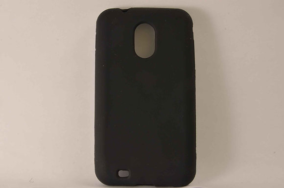 Black Samsung Epic Touch 4G  Silicone Case - 2087