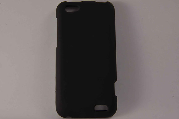 Black Snap on Case for HTC One V-2045