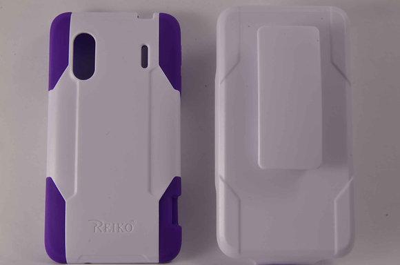 Hybrid Case w/ Clip for HTC Evo Design