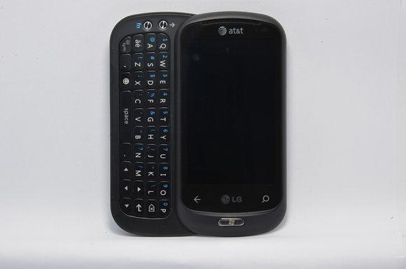 Black Unlocked LG Quantum - 1280