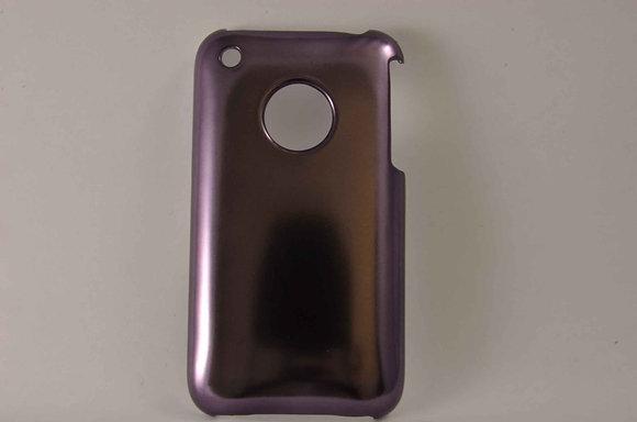 Metallic iPhone 3/3GS Protector Case - 1292