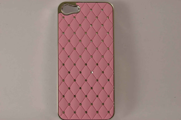 Pink Studded iPhone 5 Snap On Case 2267