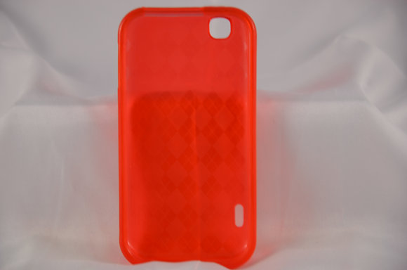 Red LG MyTouch E739 Case-1827