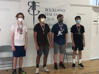 Rockland FC fencers start strong in the 20-21 competition season.
