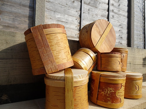 Birch Bark Travel Pot