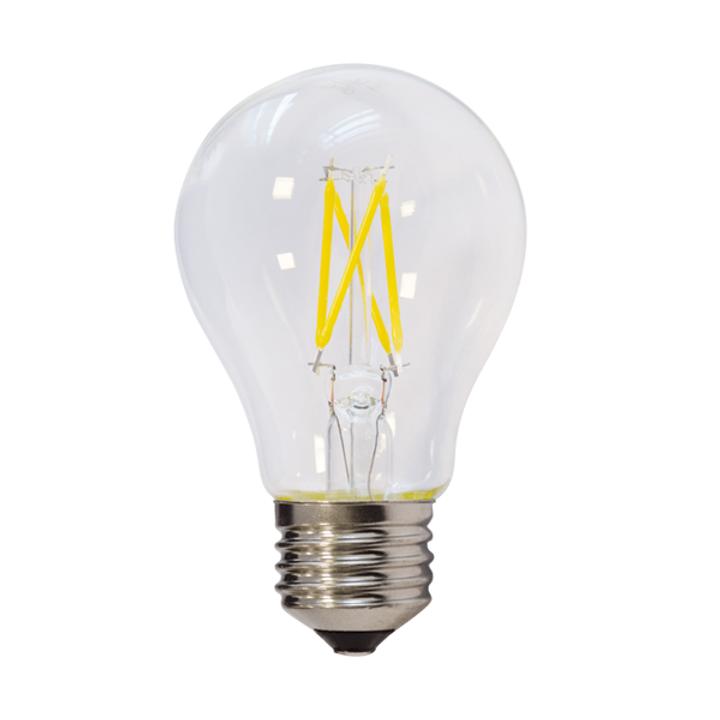 Goede LED-Lampe, E27, 6 W, 600 lm, 2700 K, Filament, dimmbar | lightplay LU-95