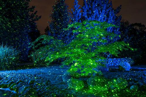 Laser Beleuchtung Garten | Luxula Green Gartenlaser Grun Lightplay Led Beleuchtung