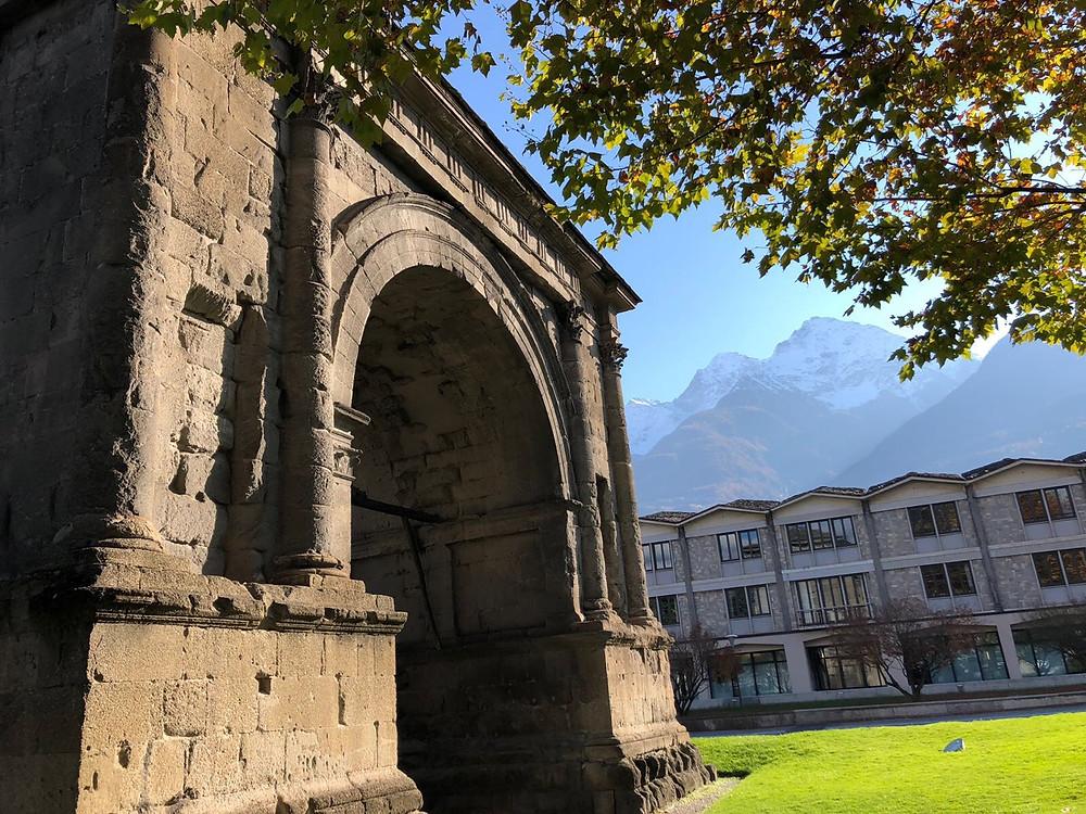 Arco di Augusto, Aosta