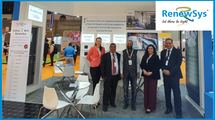 RenewSys booth at WFES 2020