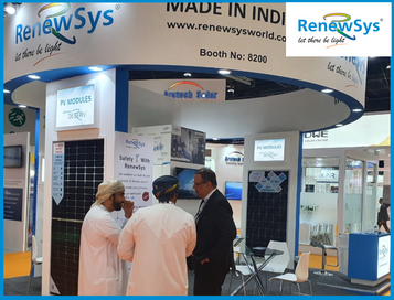 RenewSys booth at WFES 2020, Abu Dhabi