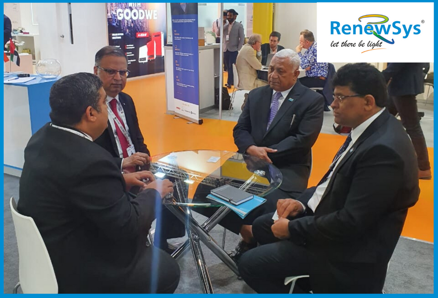 RenewSys booth at WFES, Abu Dhabi