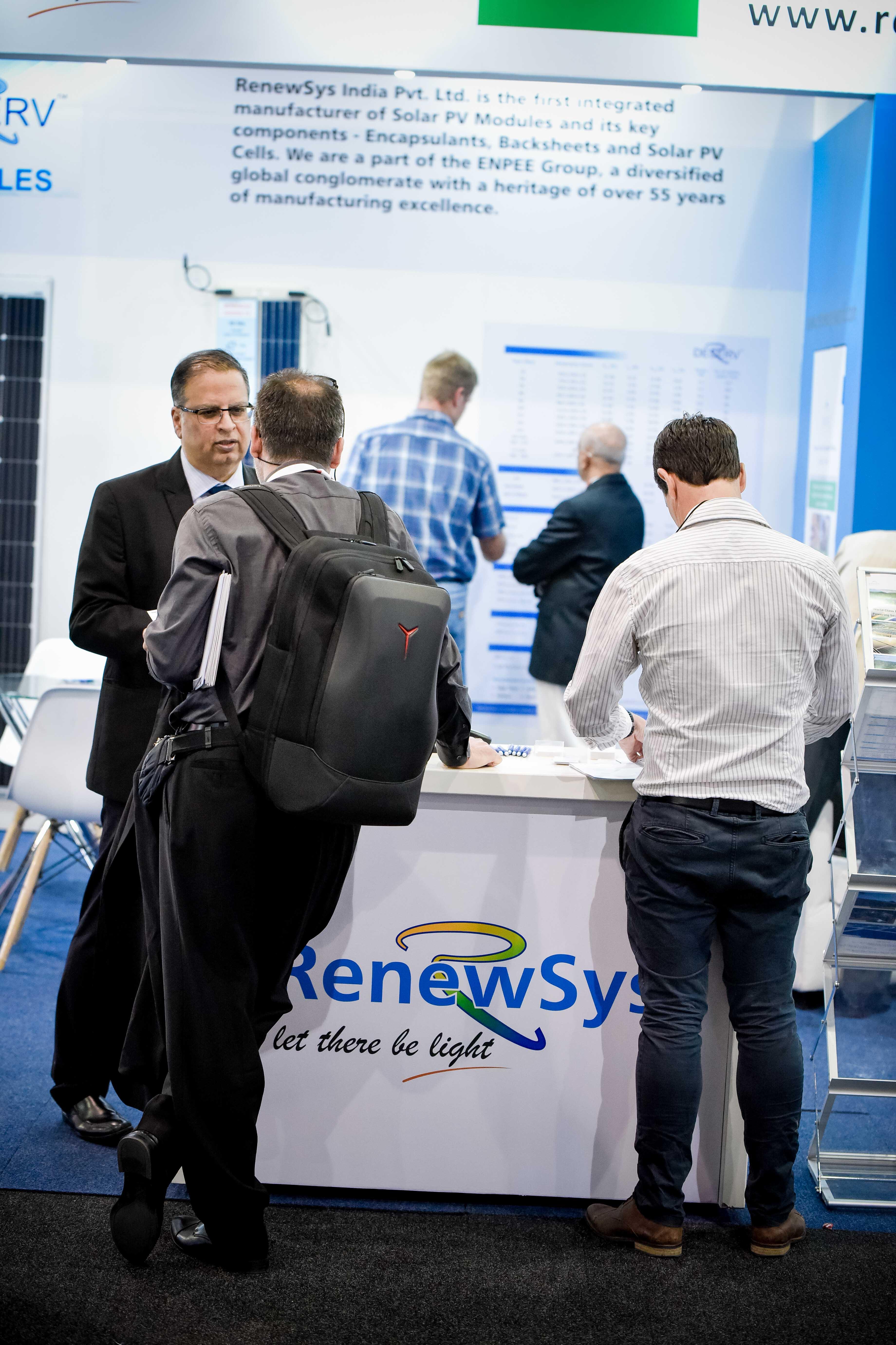 Solar Show Africa 2019-RenewSys India Pv